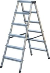 Krause Stufen-DoppelLeiter Dopplo 2 x 6 Stufen