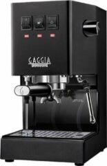 Zwarte Gaggia Classic Coffee Pro - Espressomachine - Thunder Black