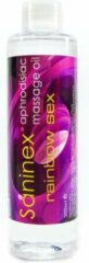 Saninex Oils/Lubes Aphrodisiac Massage Olie | Regenboog Seks | 200 ml| SANINEX