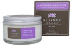 St James of London Scheercreme Lavender & Geranium (Unscented)