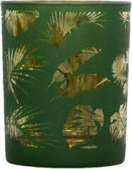 Mars & More Waxinelichthouder Veren Groen (8 x 7 cm)