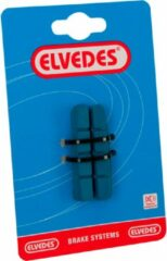 Antraciet-grijze Elvedes Remblokrubbers V-brake 53 X 11 Mm Antraciet