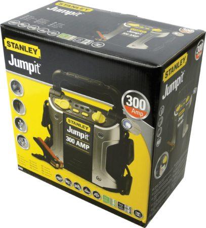 Afbeelding van Gele STANLEY Jumpit 600 - 300A - jumpstarter - 3 x USB - geen ander voertuig meer nodig