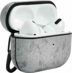 Grijze TERRATEC AirBox beschermhoesje voor AirPods Pro Fabric Gray