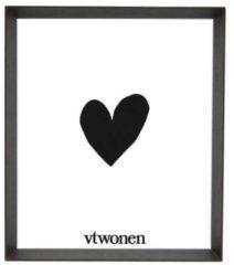 Donkerbruine VTwonen - Fotolijst - Hout - Donker bruin - 30x35 cm
