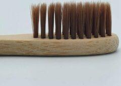 Bamboe Tandenborstel - Bruin - Milieuvriendelijk – Recyclebaar - oDaani