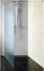 Inloopdouche Sapho Walk-In 110x190 cm met Muurprofiel Chinchilla Glas