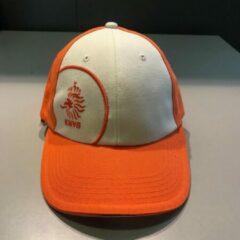 Nike Cap oranje/wit met KNVB logo voor volwassen (12 jaar en ouder)