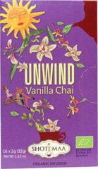 Shoti Maa Unwind Vanilla Chai Thee Zakjes 16st