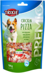Trixie Premio Pizza - Hondensnacks - Kip 100 g