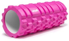 Foam Roller - VirtuFit Grid Massage Roller - 33 cm - Roze