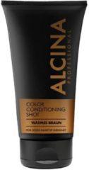 Color-Spülung Color Conditioning Shot warm bruin van Alcina