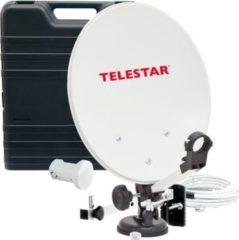 TELESTAR Camping Sat-Anlage im Koffer inkl. LNB, Kompass, und 10m Kabel ohne Receiver