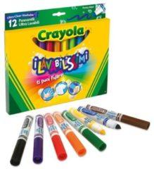"""12 Pennarelli """"I Lavabilissimi"""" Punta Maxi Crayola"""