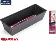 Zwarte Quttin Cakevorm - 30,5 x 11,5 x 7 cm met een dikte van 0.5 mm