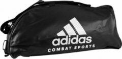Adidas Training Sporttas Combat 2-in-1 Zwart/wit 59 Liter