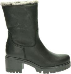 Zwarte Panama Jack Piola Dames Boots - Black - Maat 41