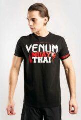 Venum MUAY THAI Classic 2.0 T-shirt zwart rood Kies uw maat: S