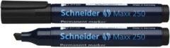 Marker Schneider Maxx 250 permanent beitelpunt zwart
