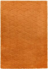 Eazy Living Easy Living - Cozy-Rug-orange Vloerkleed - 160x230 cm - Rechthoekig - Laagpolig Tapijt - Modern, Retro - Oranje