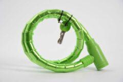 Merkloos / Sans marque Fietsslot - Groene fietsslot - Fietsslot met sleutels - Groen - Fiets - Kinderfiets - Bike - Fietsslot beste