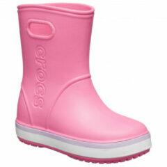 Crocs - Kid's Crocband Rain Boot - Rubberen laarzen maat C10, roze