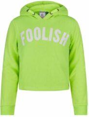 Gele Retour cropped hoodie