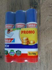 Witte Tesa® De tesa Lijmstick Promo, ideaal voor papier, karton en foto's.