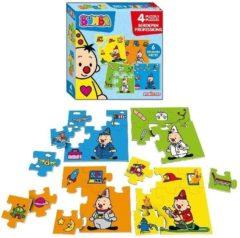 Studio 100 puzzels Bumba beroepen 4 delig