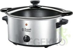 Roestvrijstalen Russell Hobbs 22740-56 Cook@Home Searing Slowcooker - 3,5 l