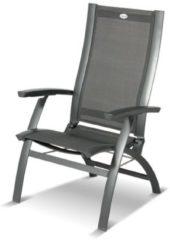 Grijze Hartman Primo Stoel Verstelbaar Dining - Verstelbare Aluminium Tuinstoel
