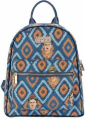 Blauwe Signare - Daypack rugtas - Gobelin - Frida Kahlo Icon
