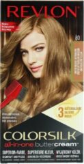 Revlon Luxurious Colorsilk Buttercream Hair Color 126.8ml - 80/73N Medium Natural Blonde