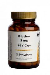 Proviform Biotine 5mg - 60 Capsule - Vitaminen