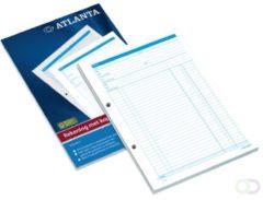 Witte Atalanta REKENINGBLOK A4 5414-013 | Rekening | 50 formulieren in tweevoud met Carbon | Kopie