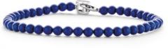 Ti Sento Milano TI SENTO - Milano 2908BL Armband zilver met blauwe balletjes 19 cm