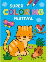 B.V. Centrale Uitgeverij Harderwijk Deltas Kleurboek Super Coloring Festival