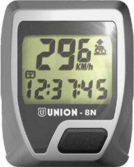 Grijze Merkloos / Sans marque Union fietscomputer 8n