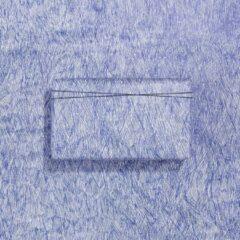 Paperoni - Scribble - luxe cadeaupapier - inpakpapier - rol met bijpassend koord - blauw