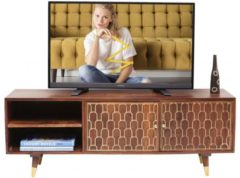 Kare Design - TV-Meubel Muskat - B140 X D35 X H50 Cm - Mangohout