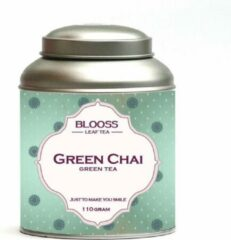 BLOOSS coffee Green Chai | groene thee | losse thee | 110g | in theeblik