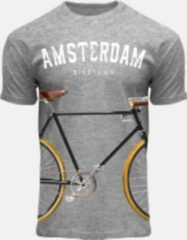 T-shirt Fiets Fox Originals grijs