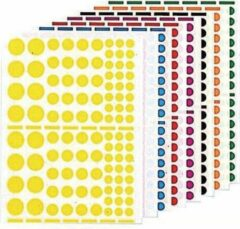 Agipa Playshapes labels. Circles. 1040 pcs (119219)