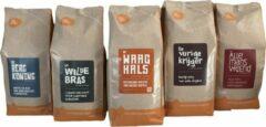 Pure Africa Arabica Proefpakket Koffiebonen - 5 x 500 gram