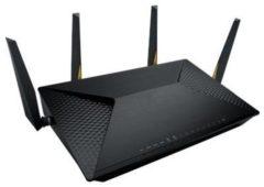 ASUS BRT-AC828 draadloze router Dual-band (2.4 GHz / 5 GHz) Gigabit Ethernet 3G 4G Zwart