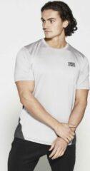 Fitness Shirt Heren Wit Athleisure - Pursue Fitness