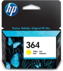 Gele HP 364 - Inktcartridge / Geel