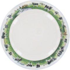 Wiebe van der Zee Landelijk OntbijtBord - Ø 21 cm - Wit