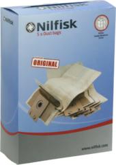 Niko Nilfisk stofzak, 5 per, voor nilfisk business, 1 nilfisk GD1010