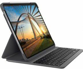 Afbeelding van Logitech Slim Folio Pro toetsenbord voor mobiel apparaat QWERTY Brits Engels Grafiet Bluetooth